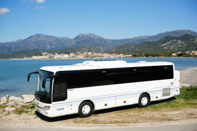 Les Autocars Santini, spécialisée depuis 1980 dans le transport touristique et scolaire