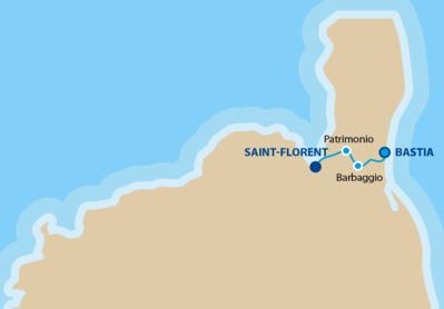 Saint Florent - Bastia : ligne régulière en bus assurée toute l'année