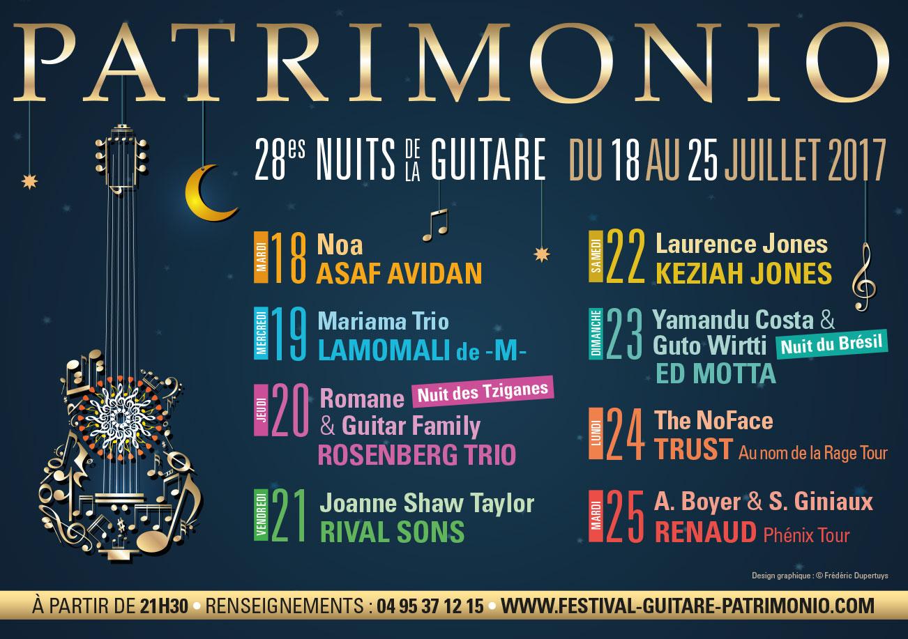 Autocars SANTINI partenaire officiel des Nuits de la Guitare Patrimonio