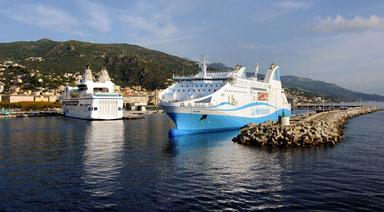 Transferts des ports et aéroports Bastia, Calvi, Ajaccio...