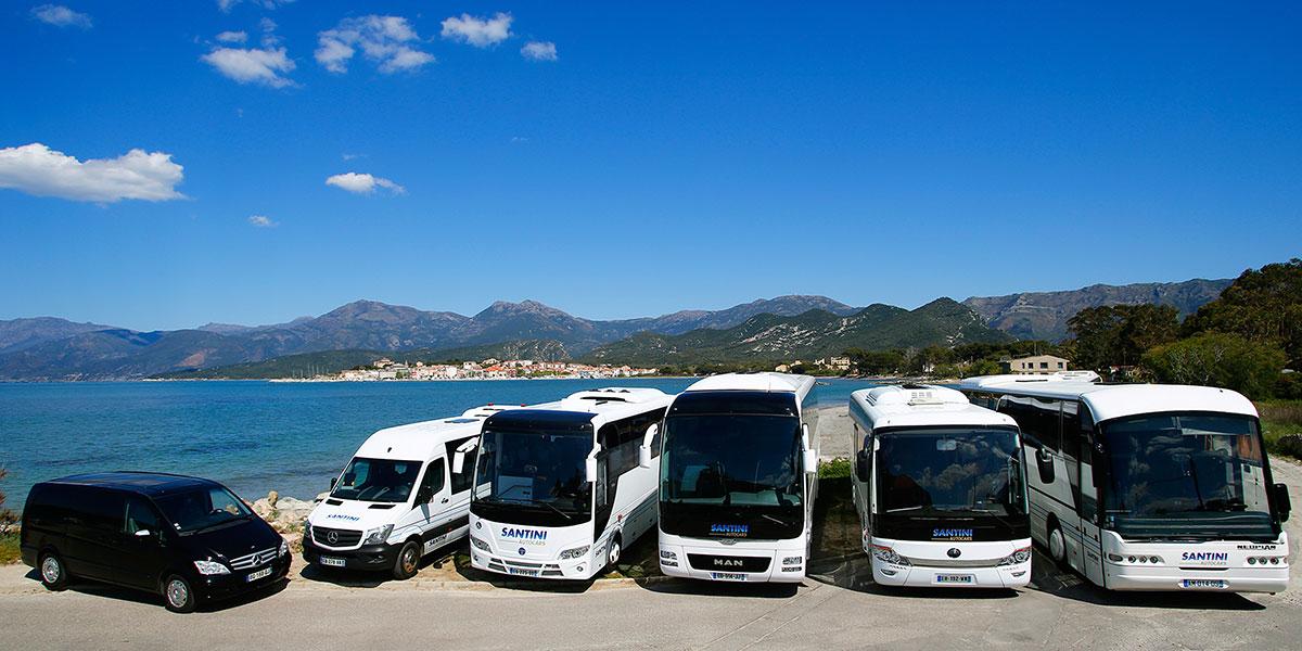 Contacter Autocars Santini à Saint Florent en Corse