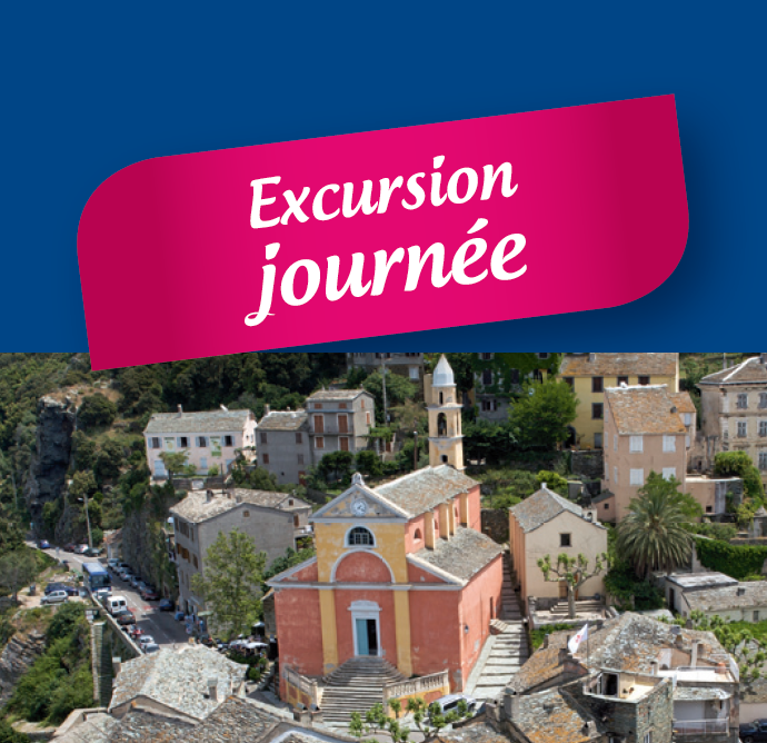 Excursion Cap Corse 1 journée : le mardi
