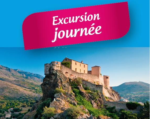 Excursion Corte - Restonica 1 journée : le jeudi