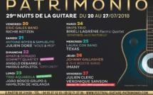 Navettes Festival Nuits de la Guitare Patrimonio 2018 : horaires