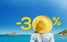 Escapade en Corse ? Corsica Ferries propose 30 % de réduction